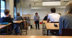 Kristina Appelqvist besöker Nyboskolan